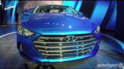 2017 Hyundai Elantra at the LA Auto Show